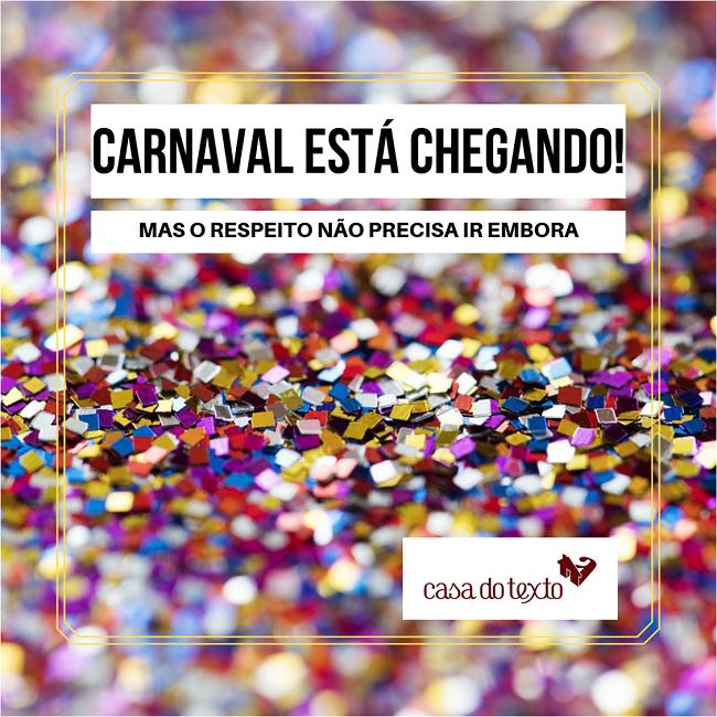 Utilidade pública: lembre-se da sua mãe neste Carnaval